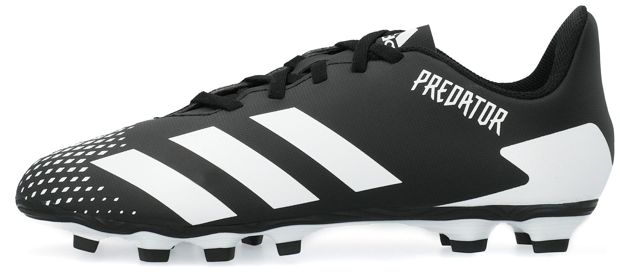 Бутсы для мальчиков adidas Predator 20.4 FXG J, размер 33 adidas бутсы для мальчиков adidas copa 20 3 fg j размер 37