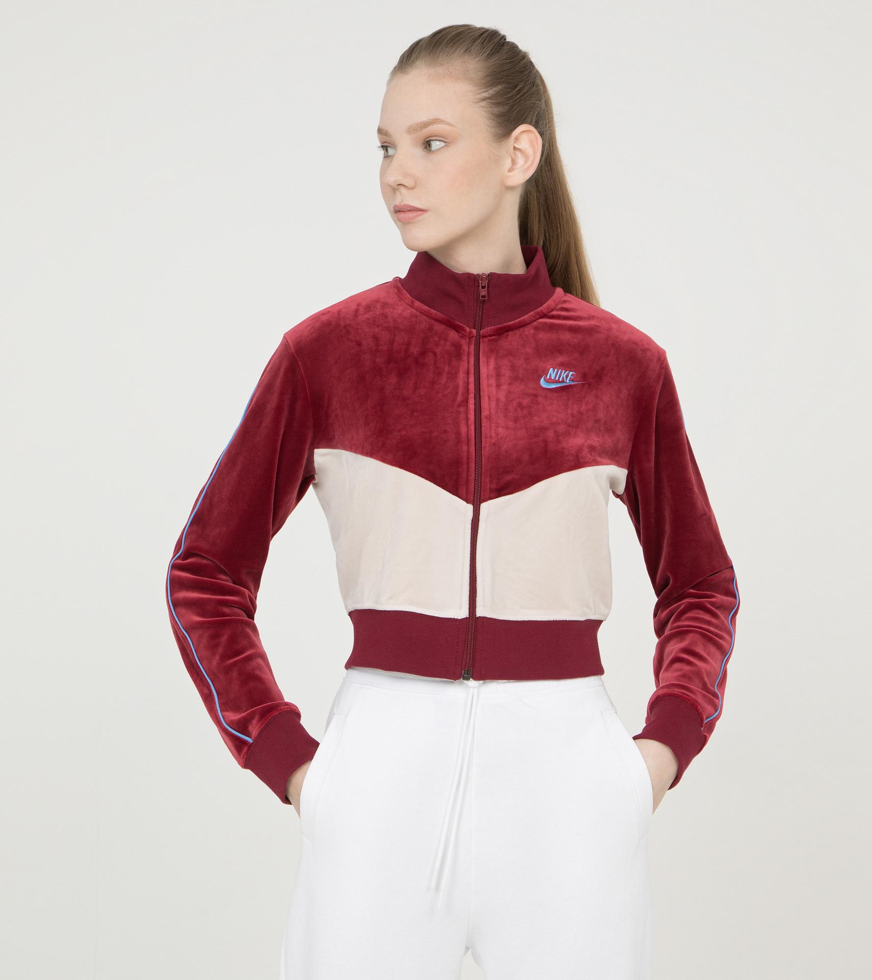цена Nike Олимпийка женская Nike Heritage, размер 48-50 онлайн в 2017 году