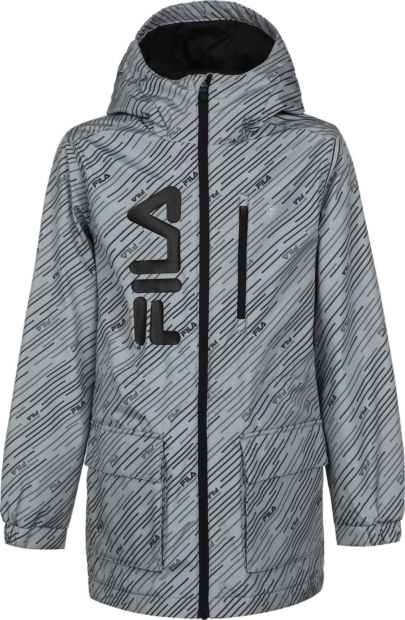 fila худи для мальчиков fila размер 176 FILA Куртка утепленная для мальчиков FILA, размер 176
