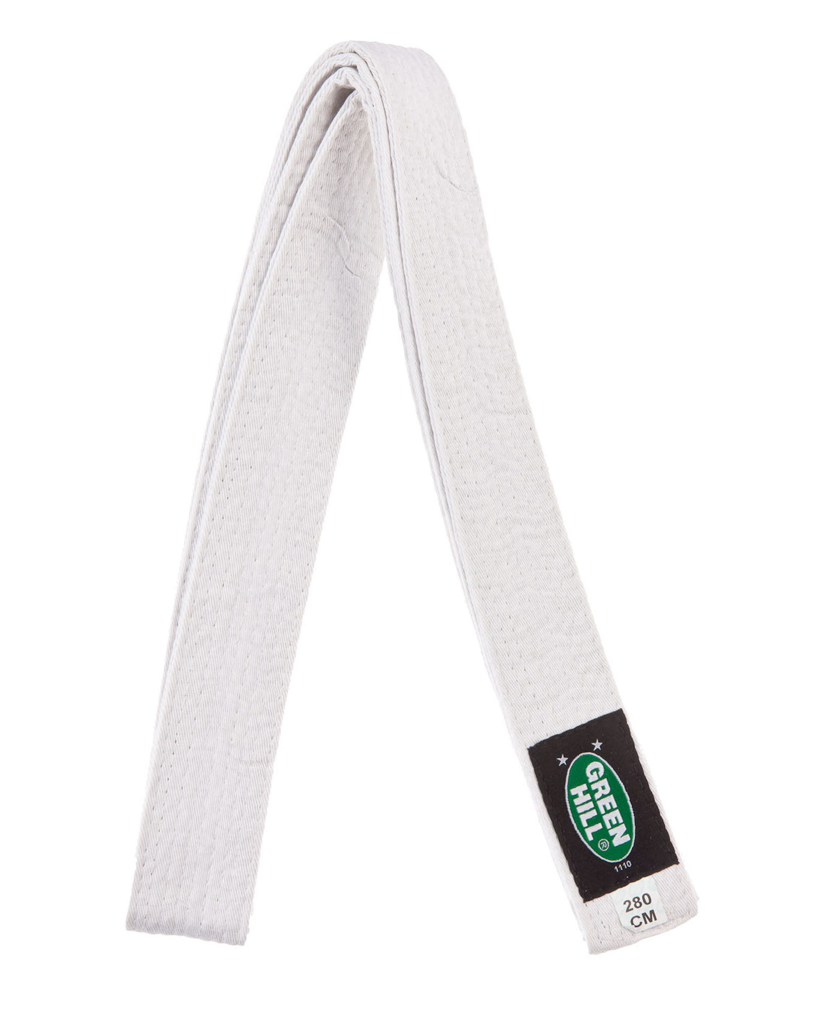 Green Hill Пояс для кимоно Green Hill, 280 см, размер 280 см цена