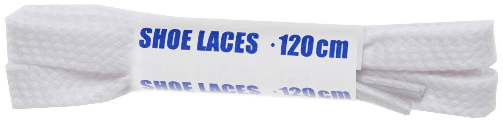 Шнурки белые плоские Woly Sport, 120 см woly шнурки черные плоские woly sport 90 см