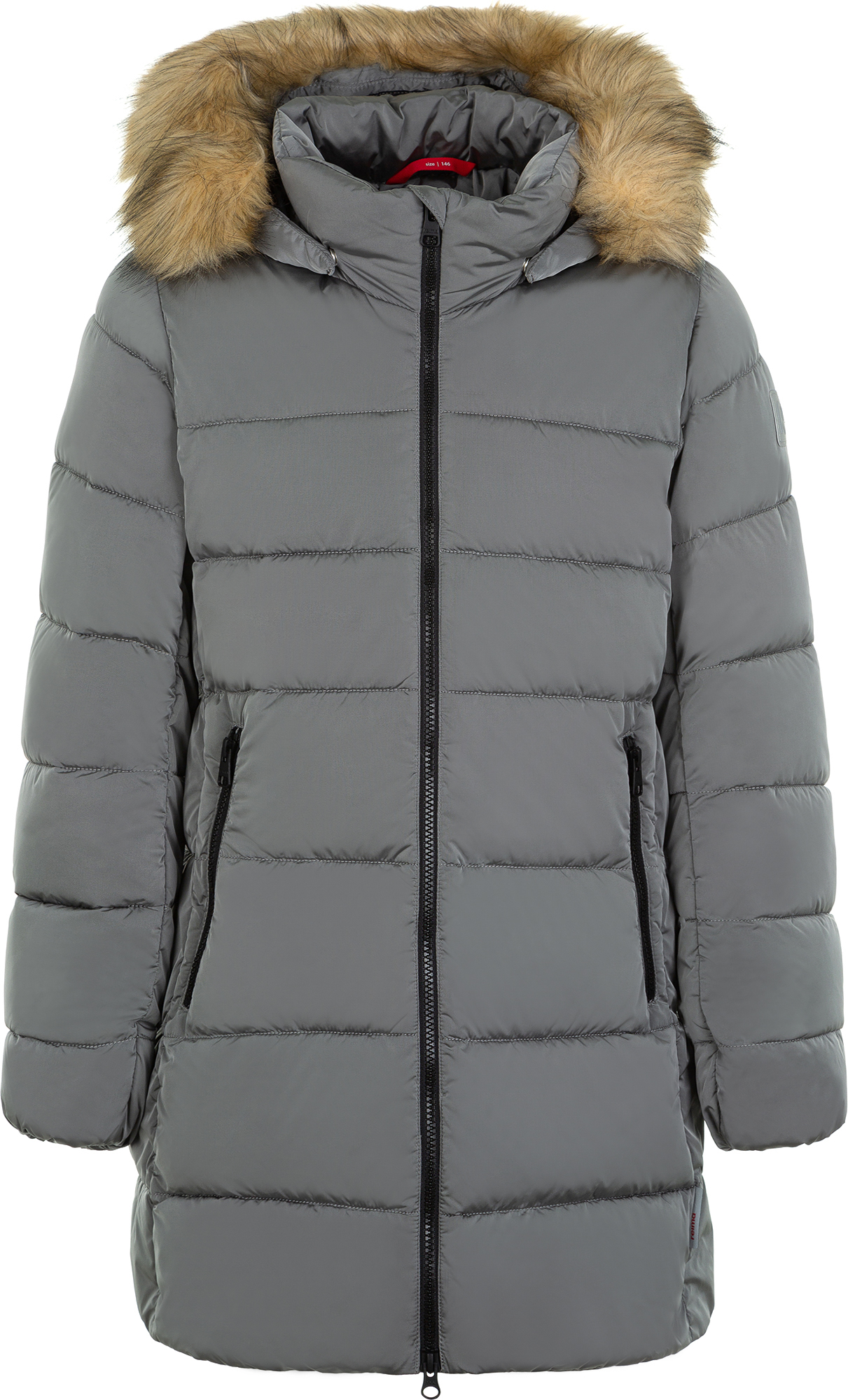 Reima Куртка утепленная для девочек Reima, размер 134 reima толстовка для девочек reima haiko размер 146