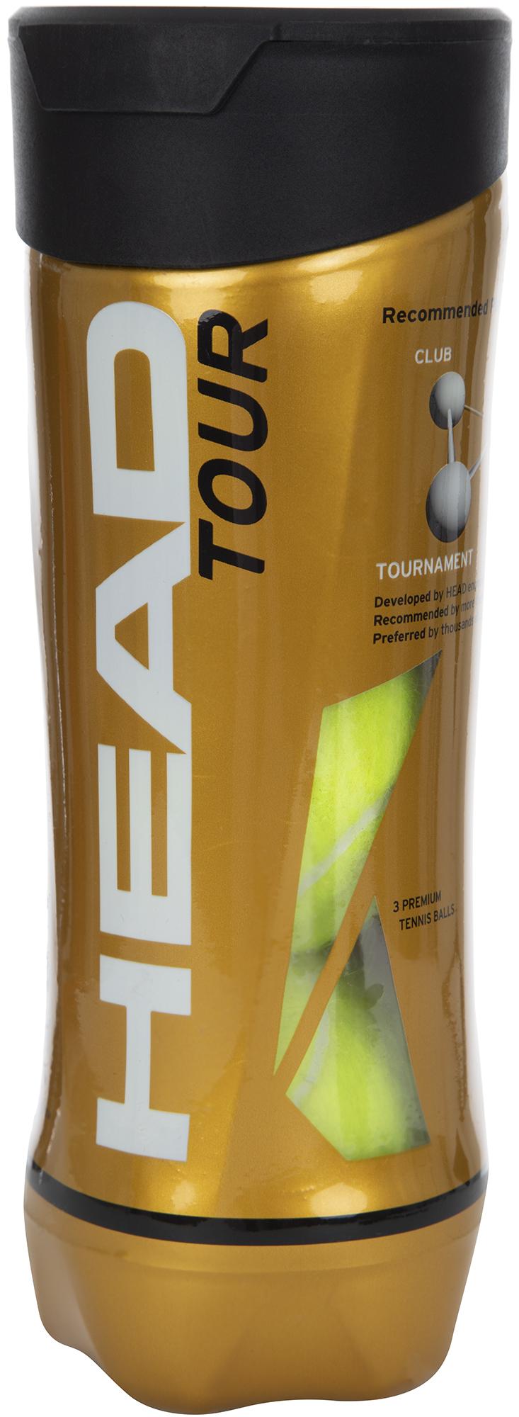 Head Набор мячей для большого тенниса Head Tour недорго, оригинальная цена