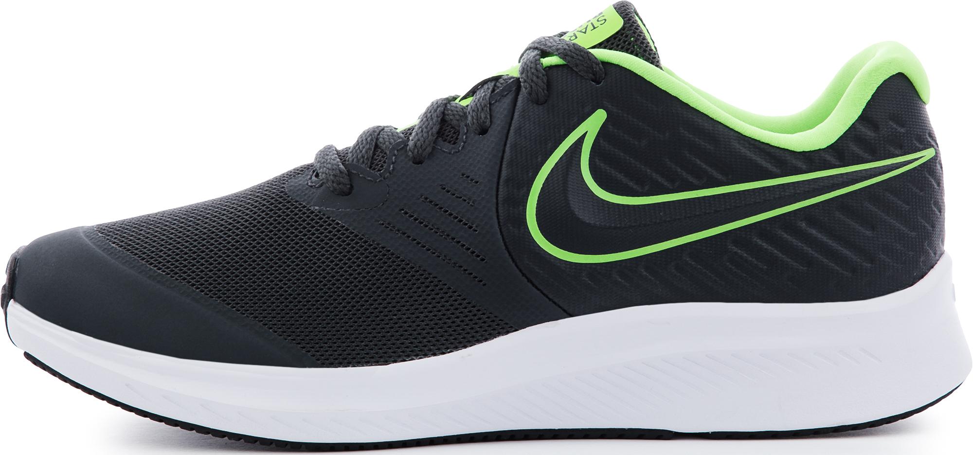 Nike Кроссовки для мальчиков Nike Star Runner 2 (Gs), размер 35 одежда для занятий баскетболом nike 005027 11 diy