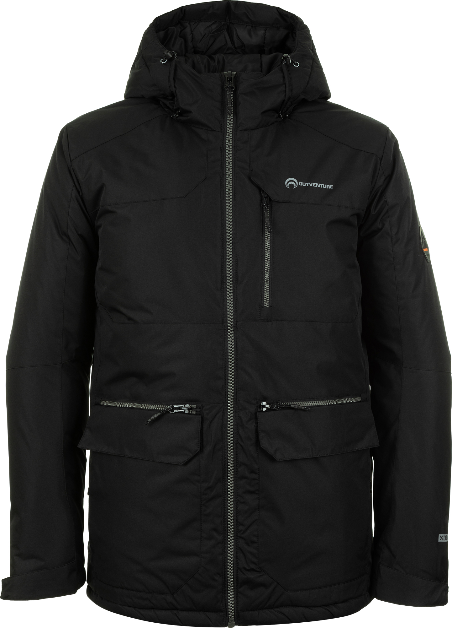 Outventure Куртка утепленная мужская , размер 56