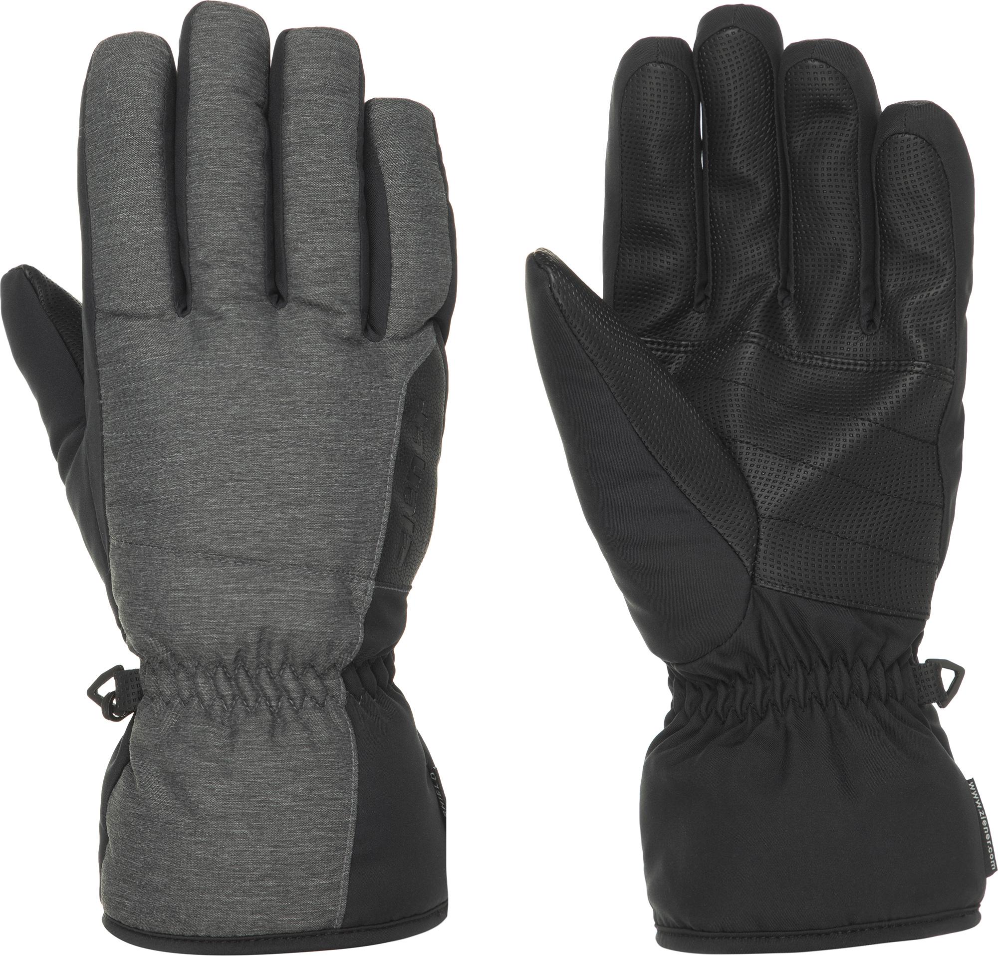 Ziener Перчатки мужские Ziener, размер 9 ziener перчатки мужские ziener gliss gtx размер 9