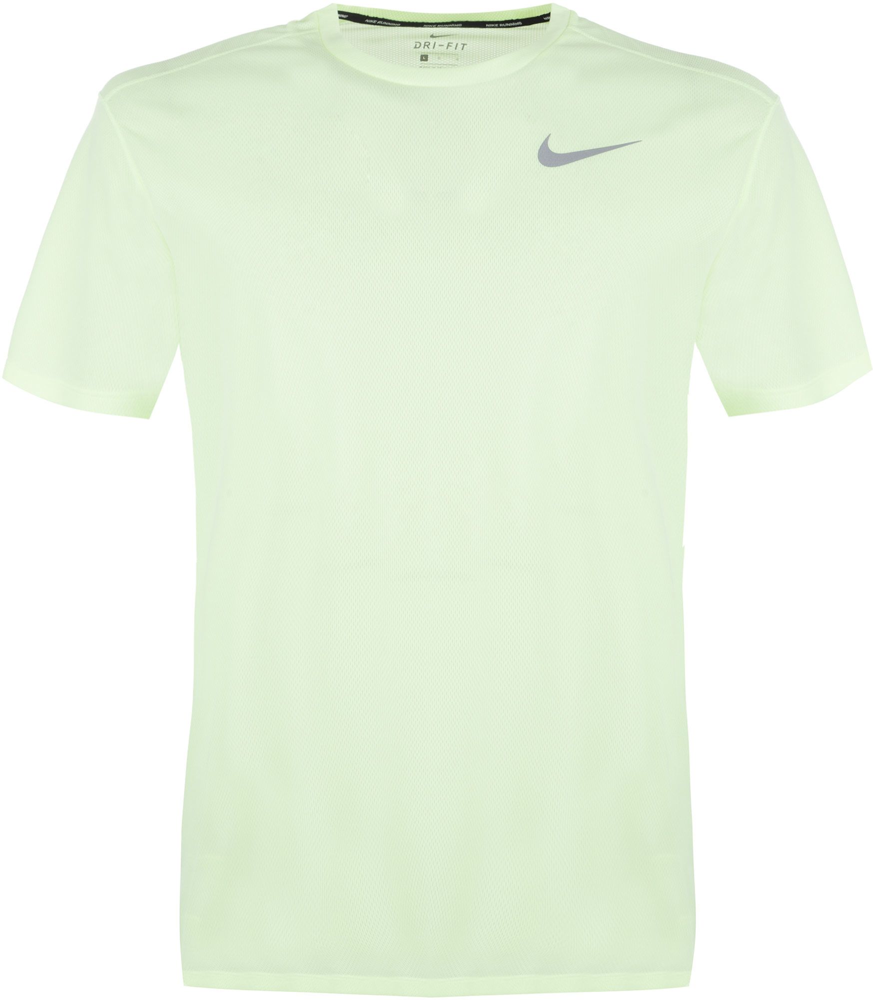 Nike Футболка мужская Nike Breathe Run, размер 52-54 nike футболка мужская nike cool miler
