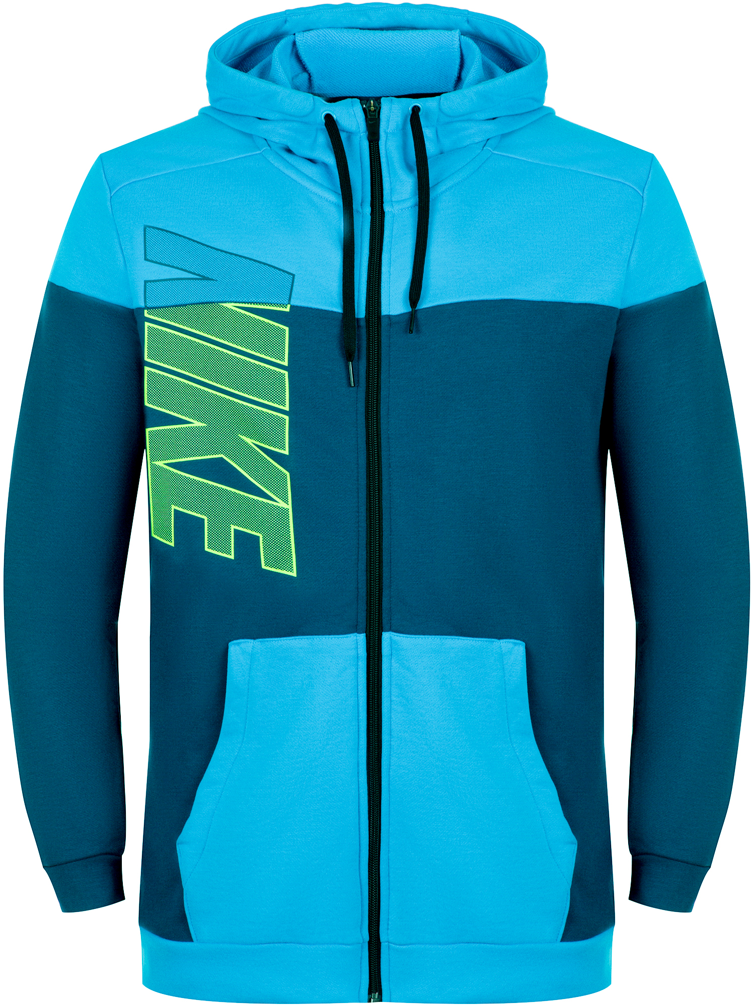 Nike Толстовка мужская Nike Dri-FIT, размер 52-54 мужская толстовка 2015 slim fit w20