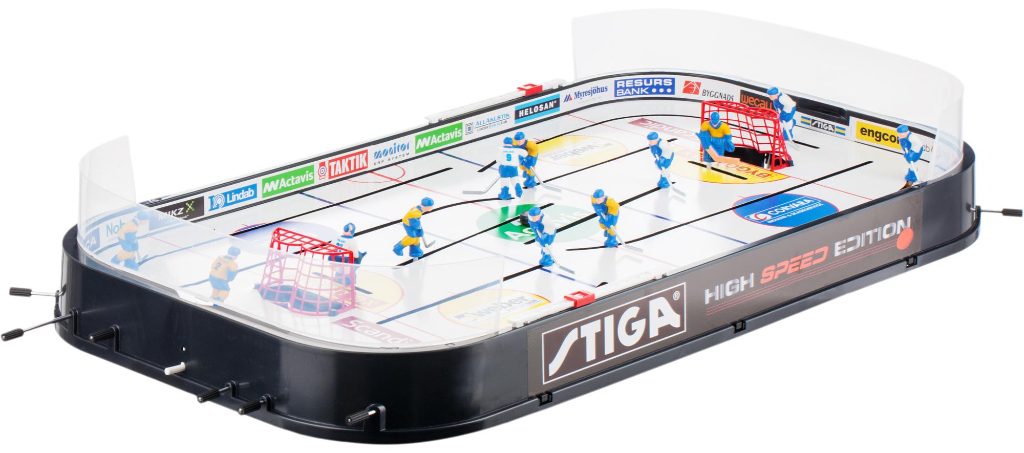 Stiga Настольный хоккей Stiga High Speed сцепка eurosystems 2 регулировки к stiga 3255100000