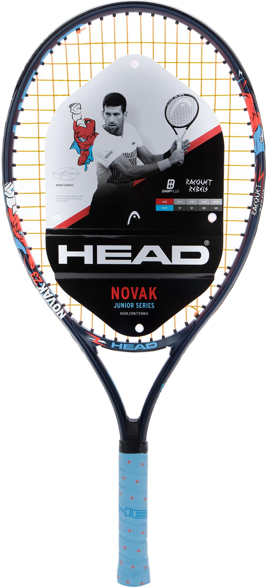 цена на Head Ракетка для большого тенниса детская Head Novak 23