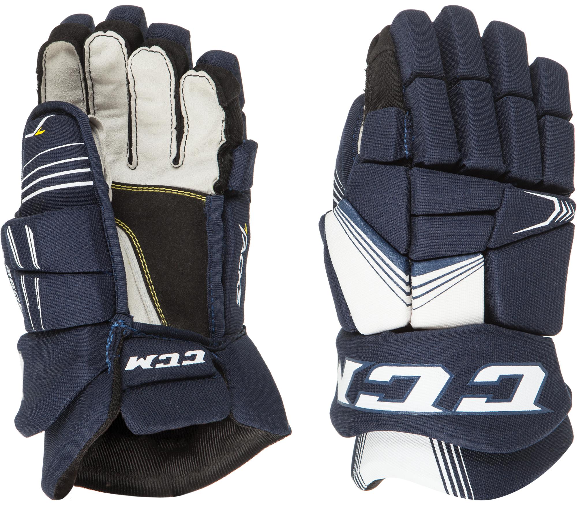 CCM Перчатки хоккейные детские CCM TACKS 3092, размер 12 ccm шлем хоккейный ccm tacks 310