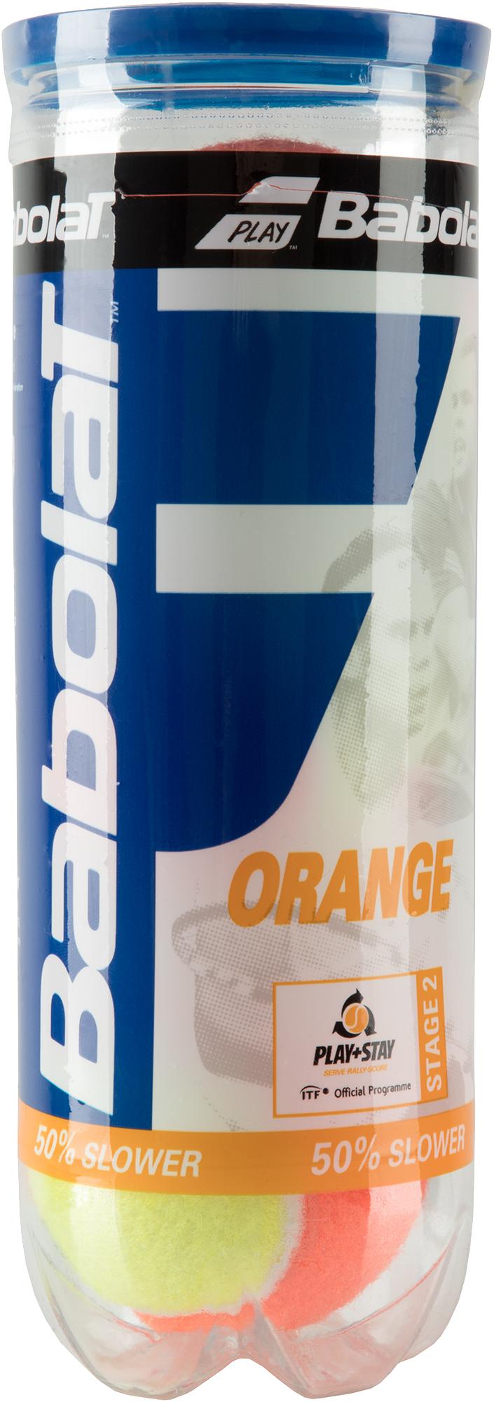 Babolat Набор мячей для большого тенниса Orange X3