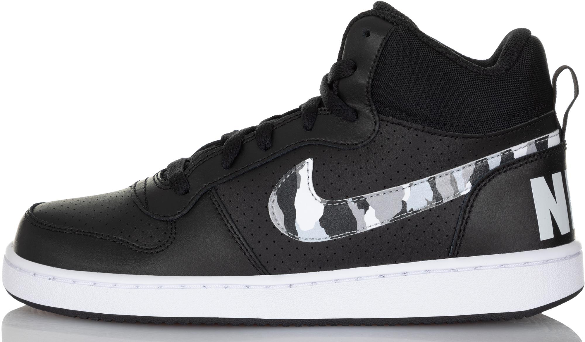 Nike Кеды детские Nike Court Borough Mid, размер 35,5