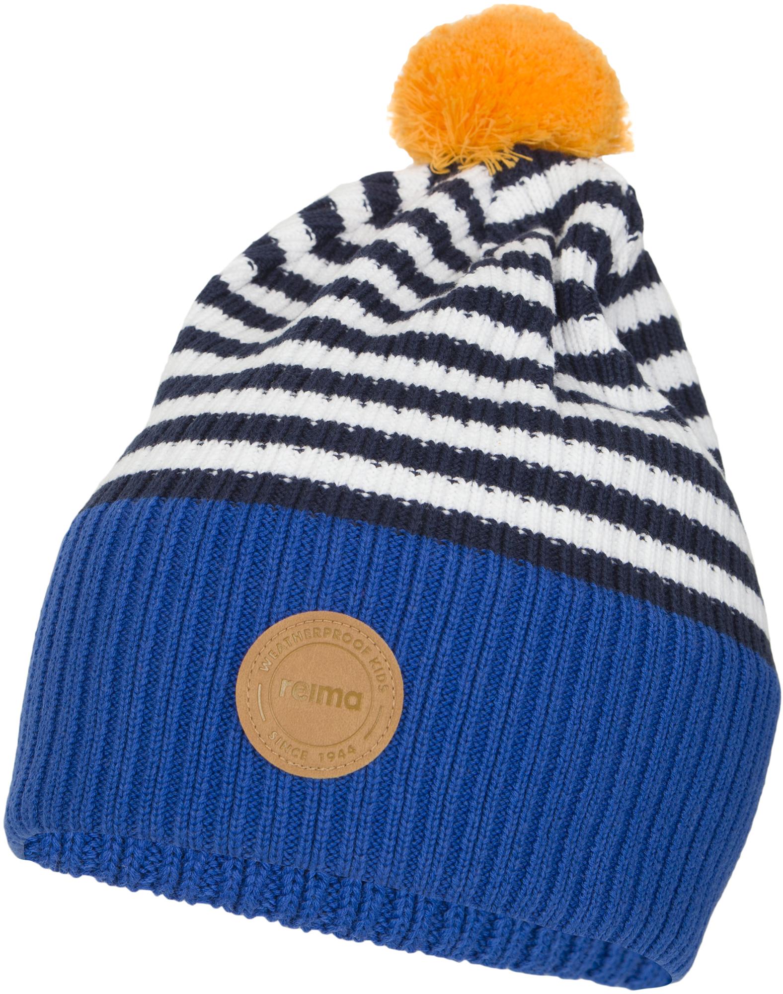 Reima Шапка для мальчиков Reima Beanie Tokko, размер 56 reima шапка lilja белый меланж