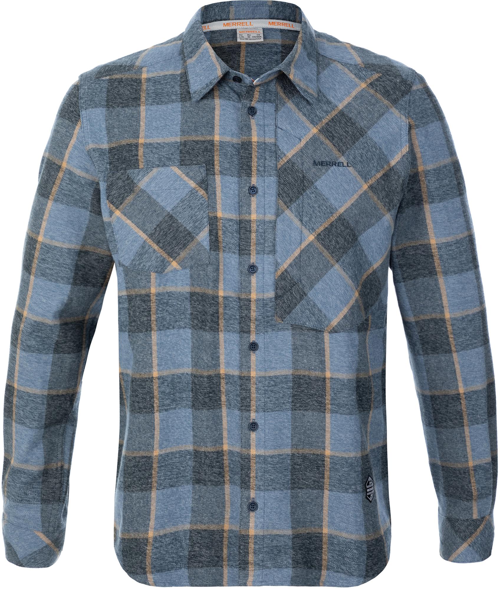 Merrell Рубашка мужская Merrell, размер 54 рубашка мужская jpe 2013 zara