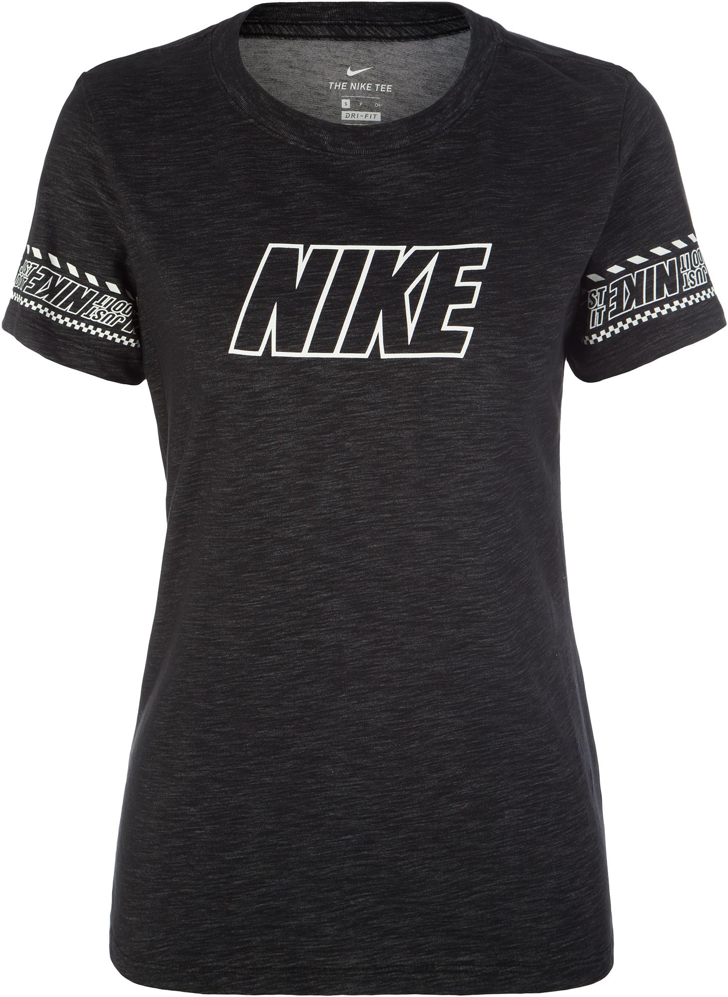 Nike Футболка женская Nike Dri-FIT, размер 48-50 цена