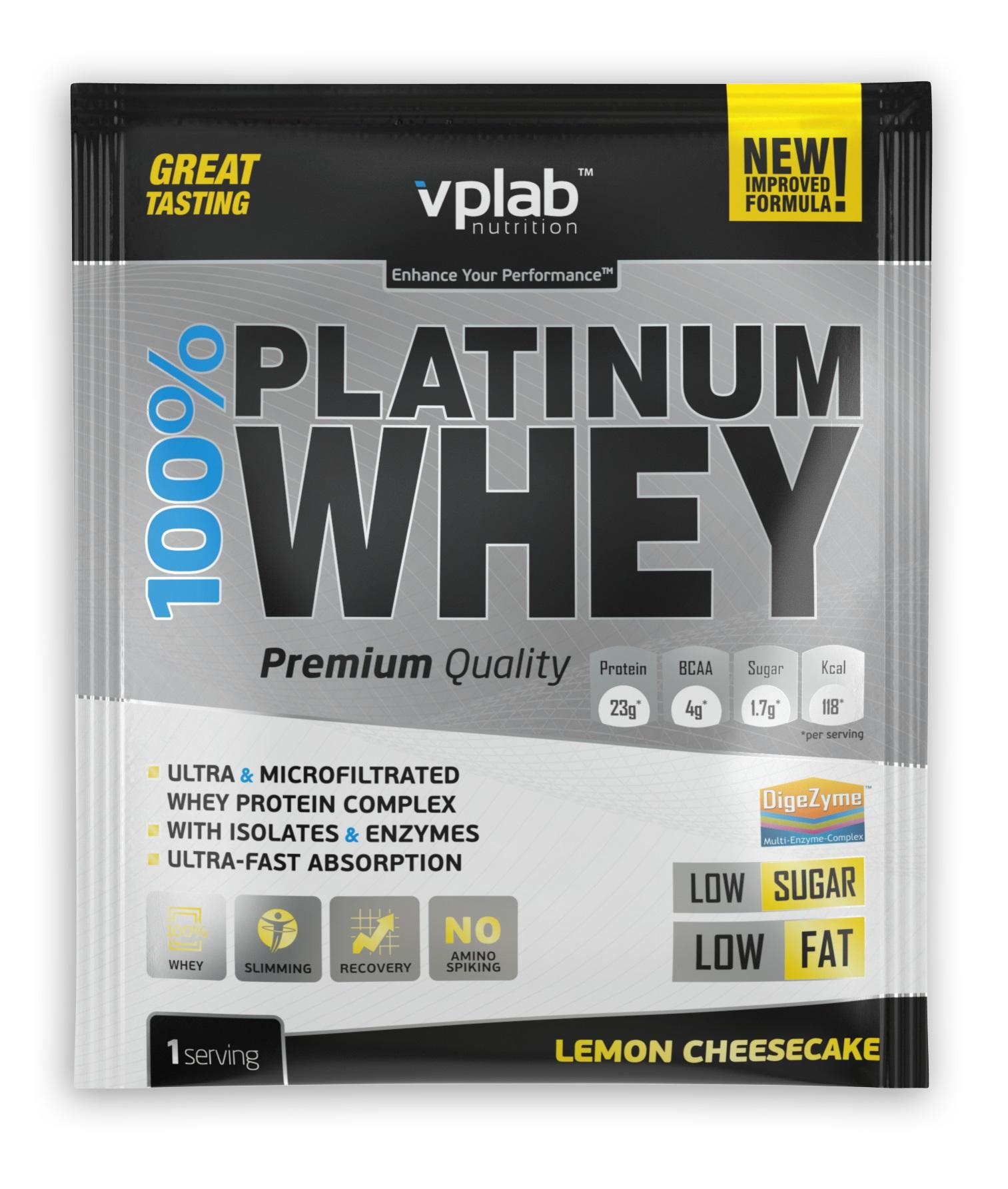Фото - Vplab nutrition Протеин Vplab nutrition, лимонный чизкейк протеин