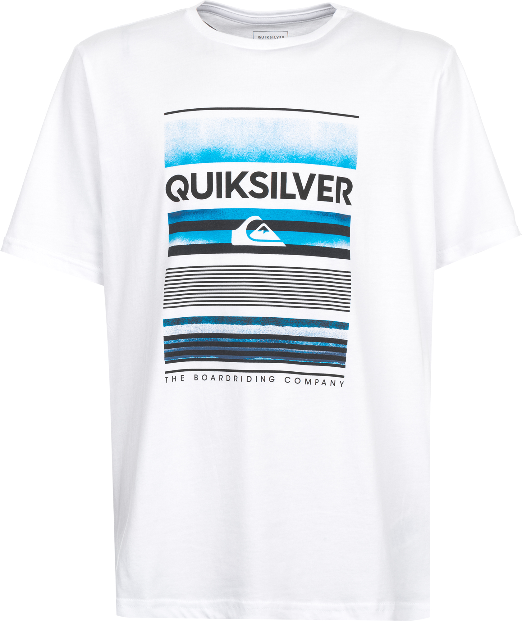 Quiksilver Футболка для мальчиков Quiksilver Flaxton, размер 164-170 quiksilver штаны прямые детские quiksilver thick wood baby i pant blue salted