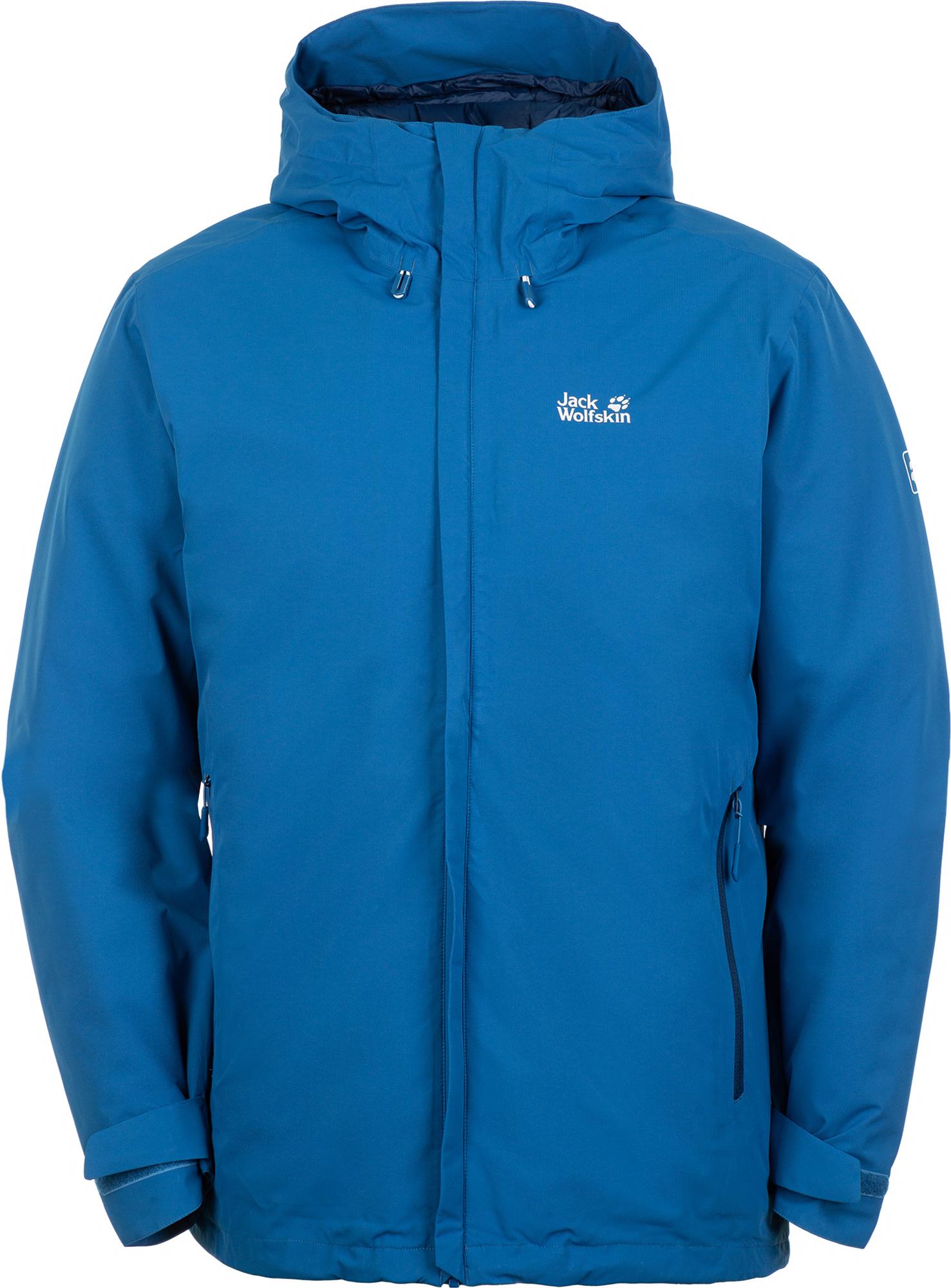 лучшая цена Jack Wolfskin Куртка утепленная мужская Jack Wolfskin Argon Storm, размер 54-56