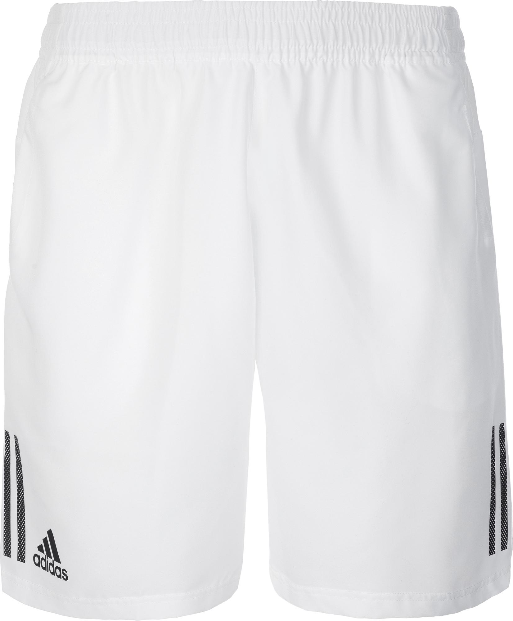 Adidas Шорты мужские Adidas 3-Stripes 9-Inch, размер 52-54 шорты для тенниса мужские adidas uncontrol climachill цвет черный b45842 размер l 52 54