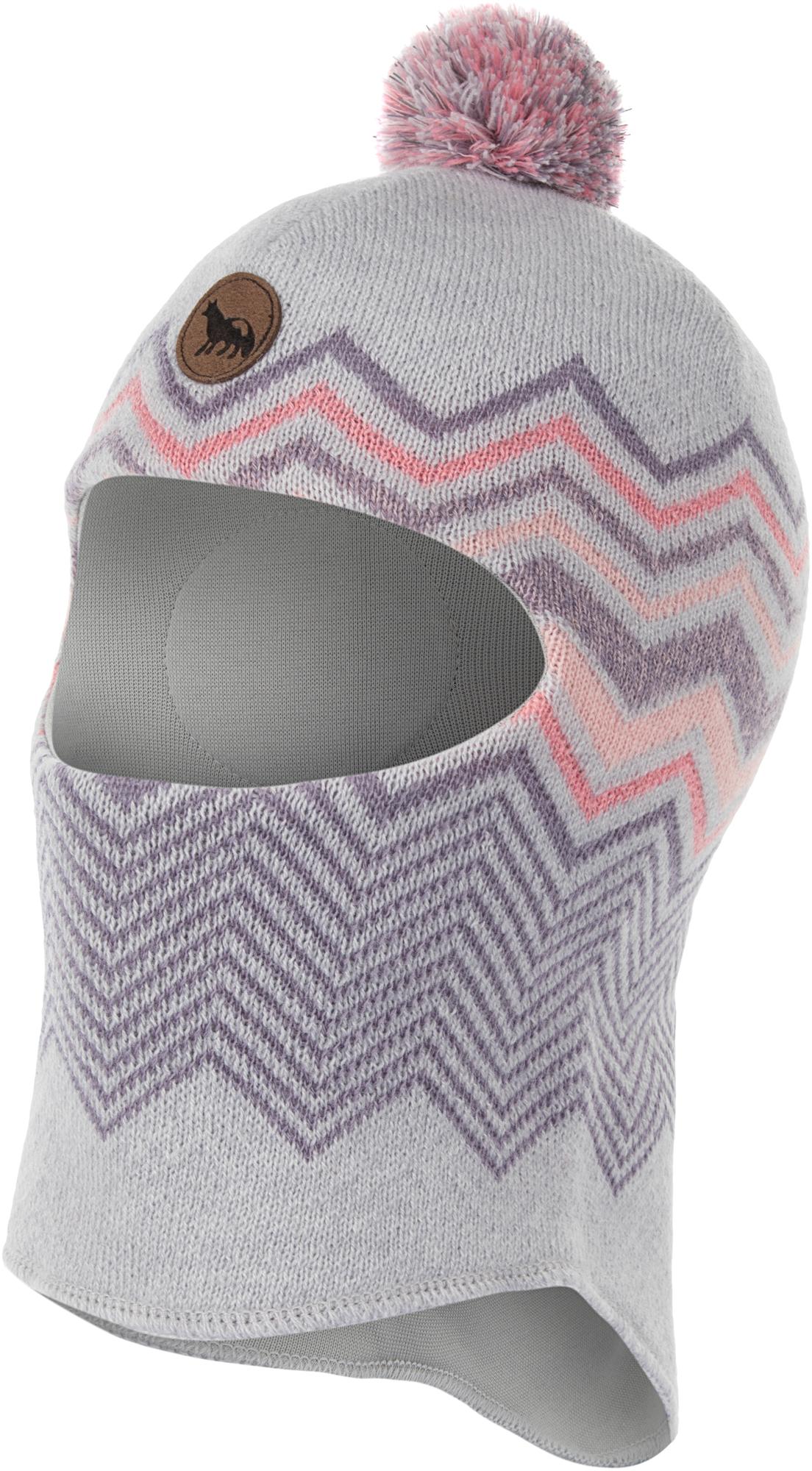 Outventure Шапка-шлем для девочек Outventure, размер 52 шапка детская vilukissa шапка шлем nea зимняя для девочки серая