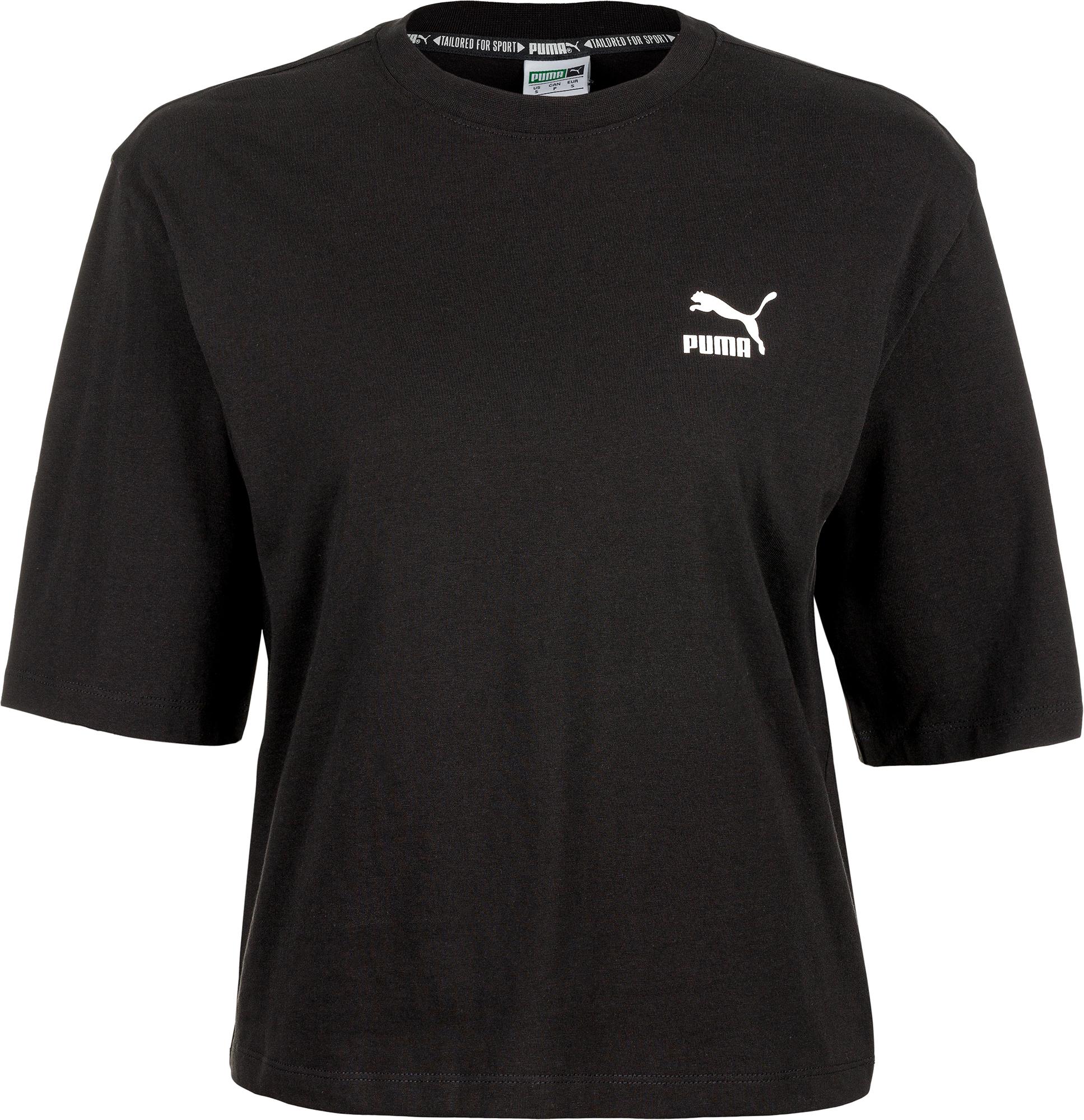 Puma Футболка женская Puma TFS Graphic Tee, размер 44-46 футболка женская levi s® tees graphic ss цвет розовый 1736904090 размер xl 50