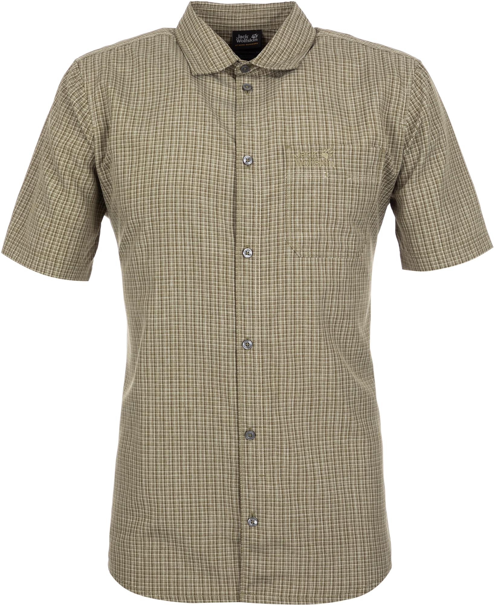 JACK WOLFSKIN Рубашка мужская JACK WOLFSKIN El Dorado, размер 54-56 цена