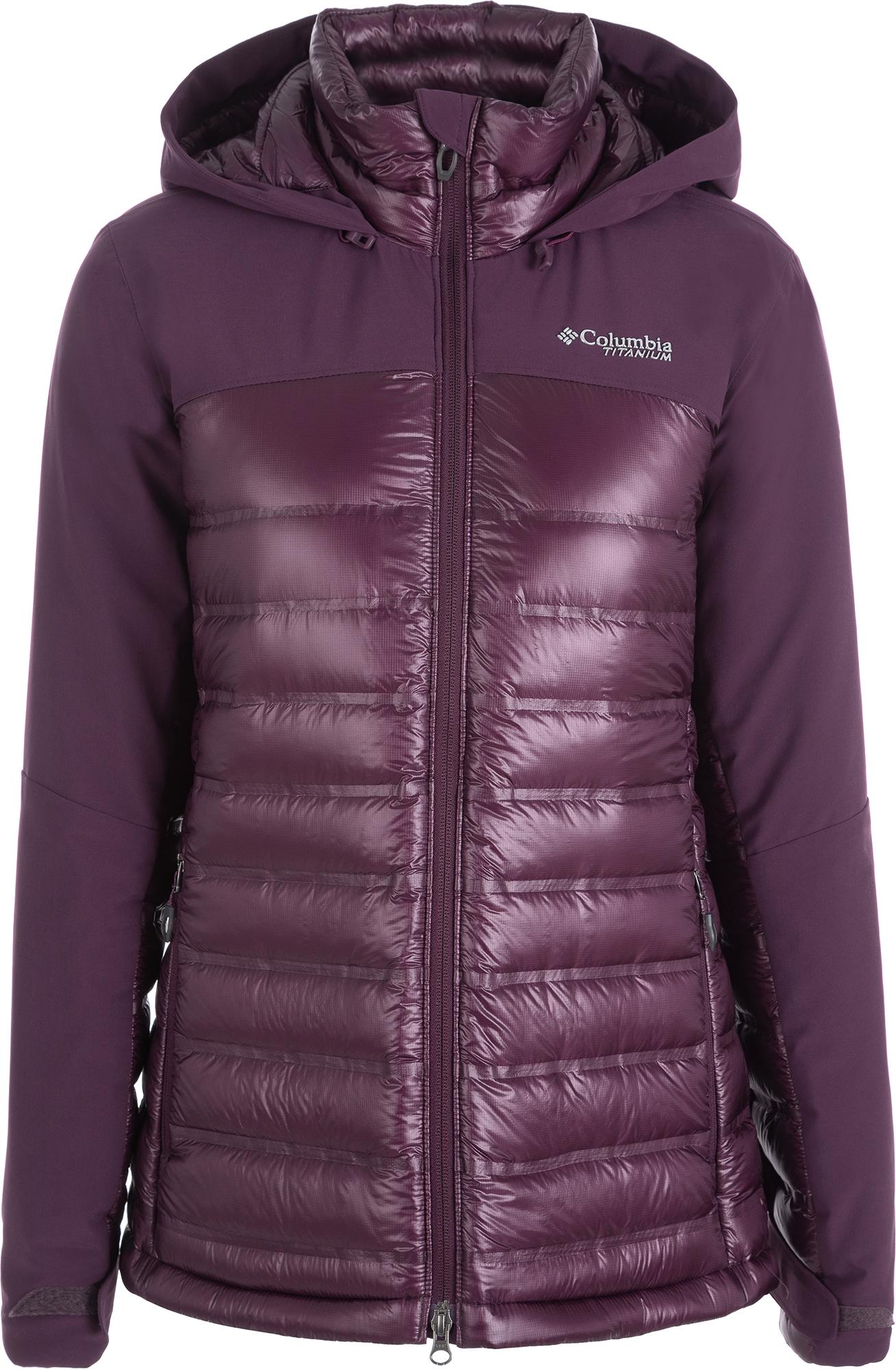 цена Columbia Куртка пуховая женская Columbia Heatzone 1000 TurboDown II, размер 44 онлайн в 2017 году