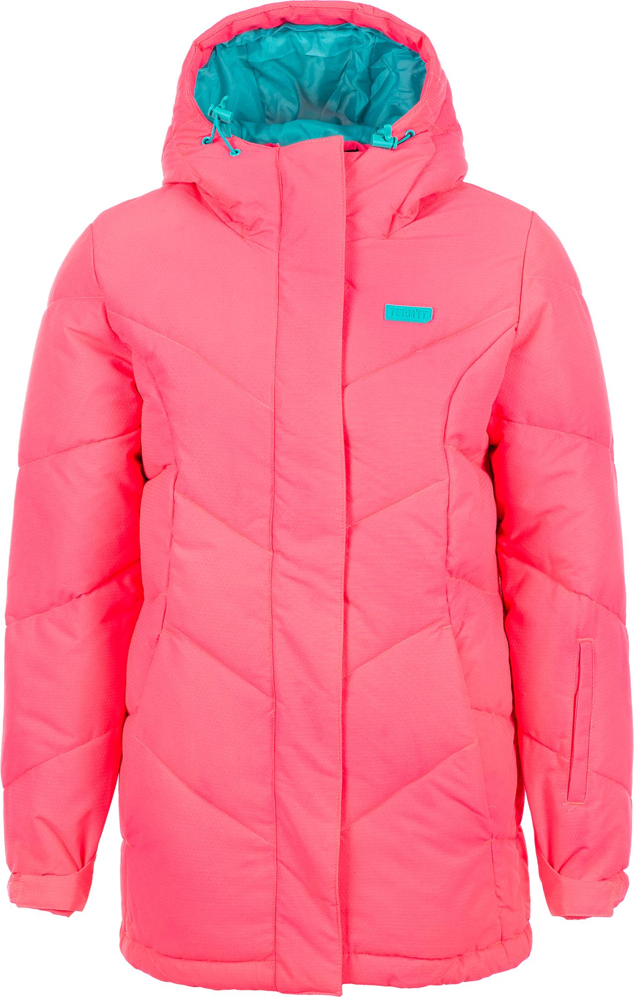 Termit Куртка утепленная для девочек Termit, размер 164 куртка для девочек atplay цвет серый 1jk803 размер 86