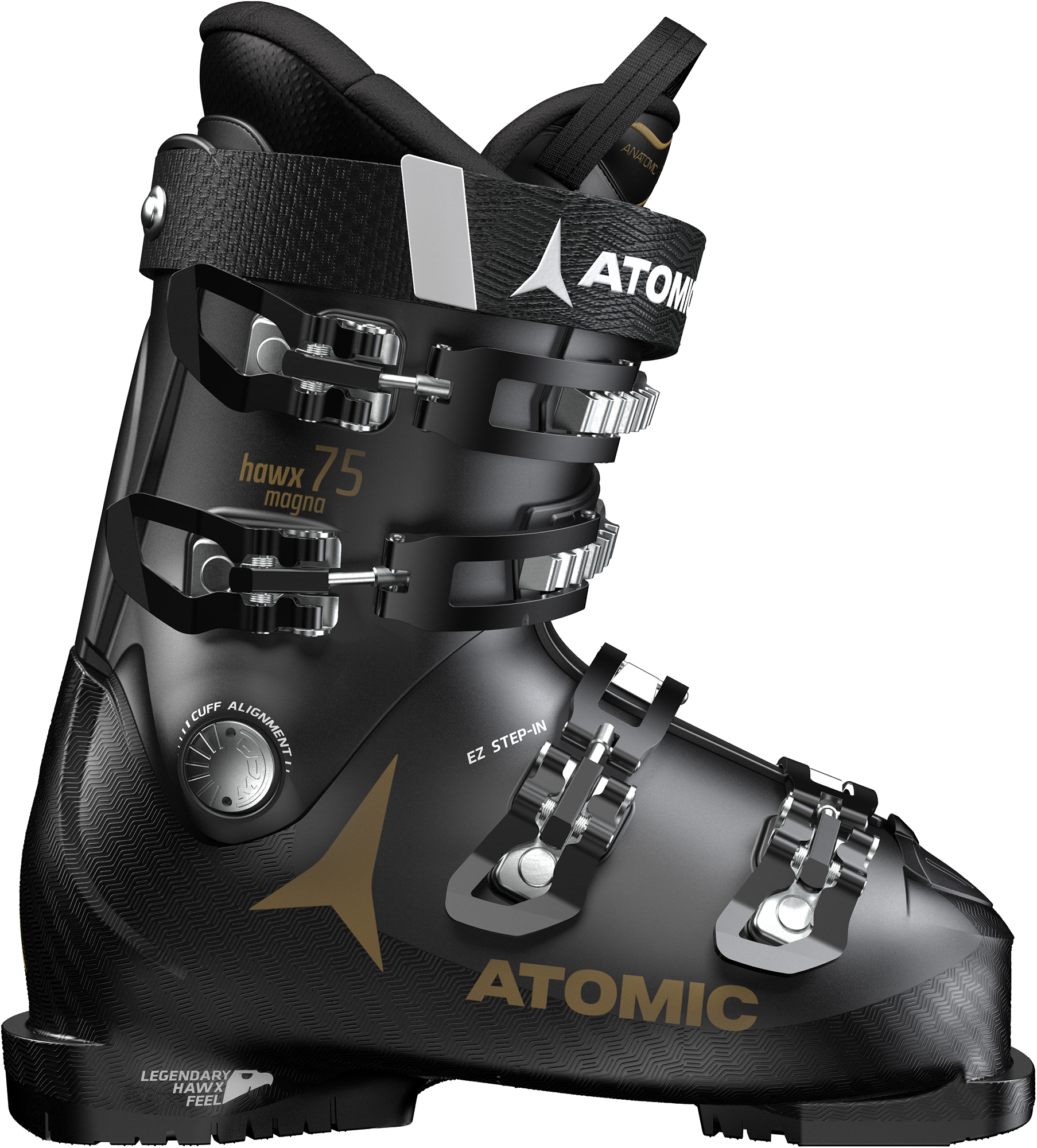 Atomic Ботинки горнолыжные женские Atomic Hawx Magna 75, размер 23 см atomic ботинки горнолыжные atomic live fit 100 размер 46