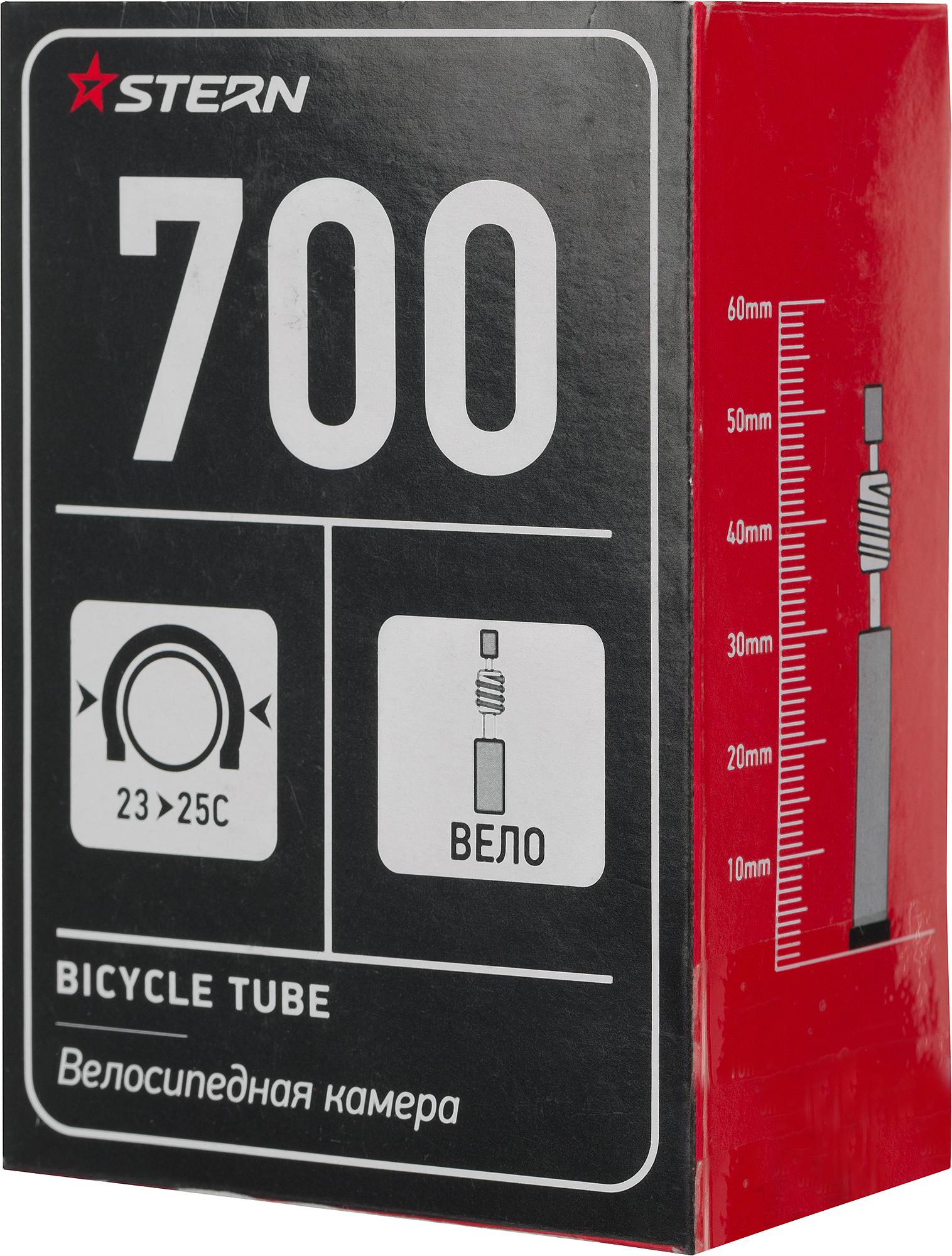 Stern Камера Stern 700С велониппель stern корзина велосипедная детская stern размер без размера