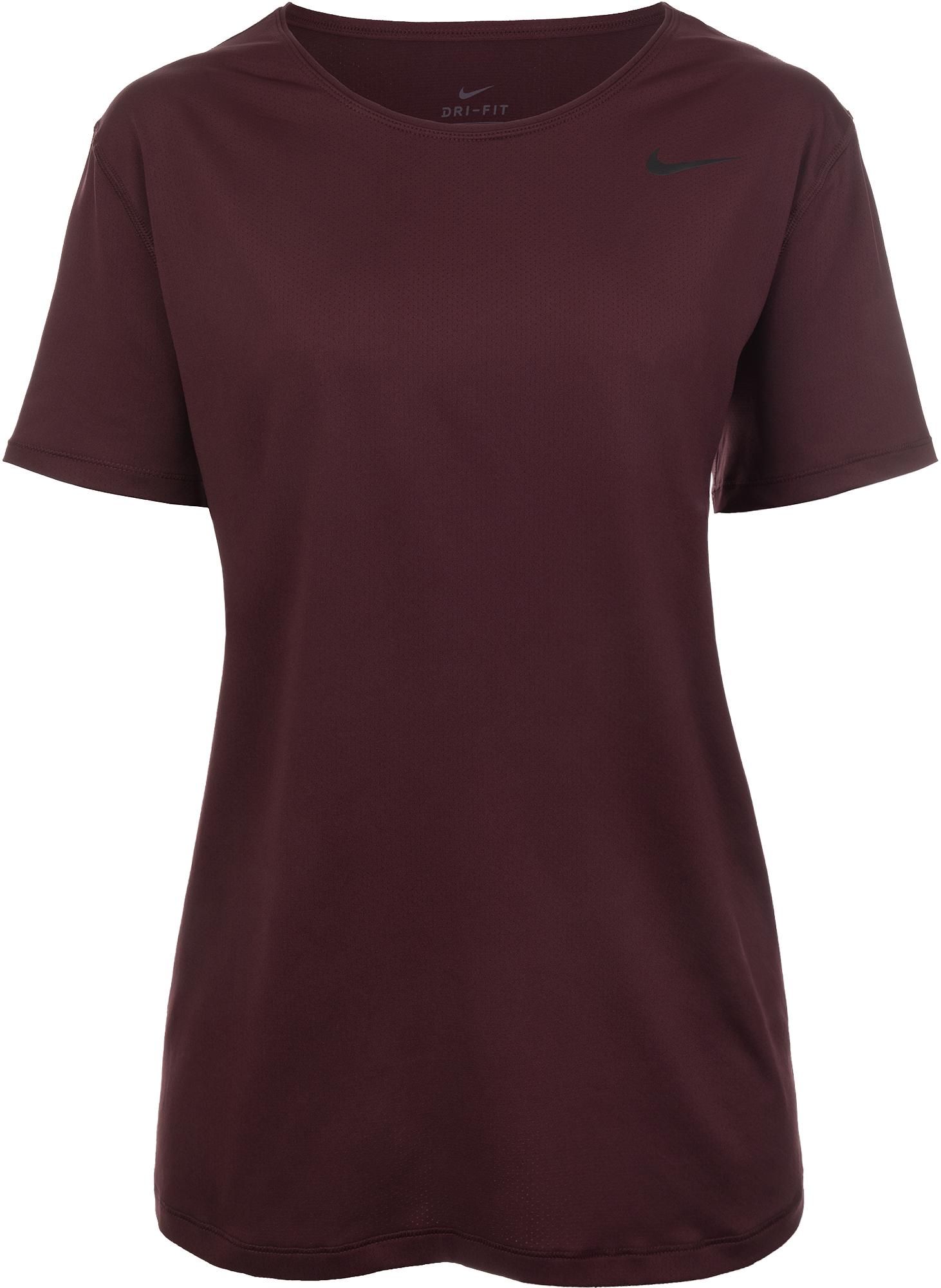 Nike Футболка женская Nike Pro, размер 56-58 футболка женская nike pro top цвет белый 889540 100 размер s 42 44