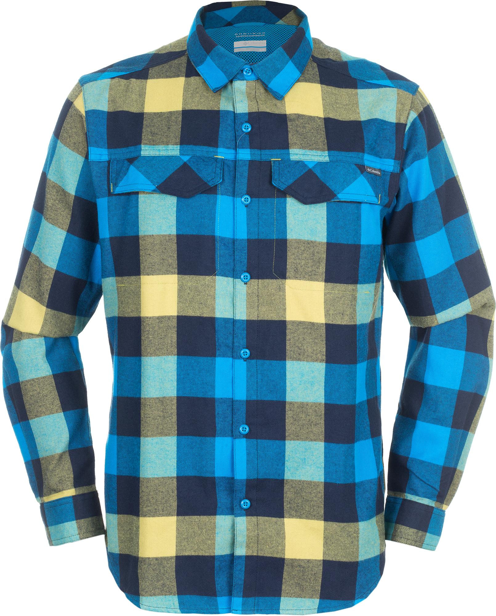 Columbia Рубашка с длинным рукавом мужская Columbia Silver Ridge