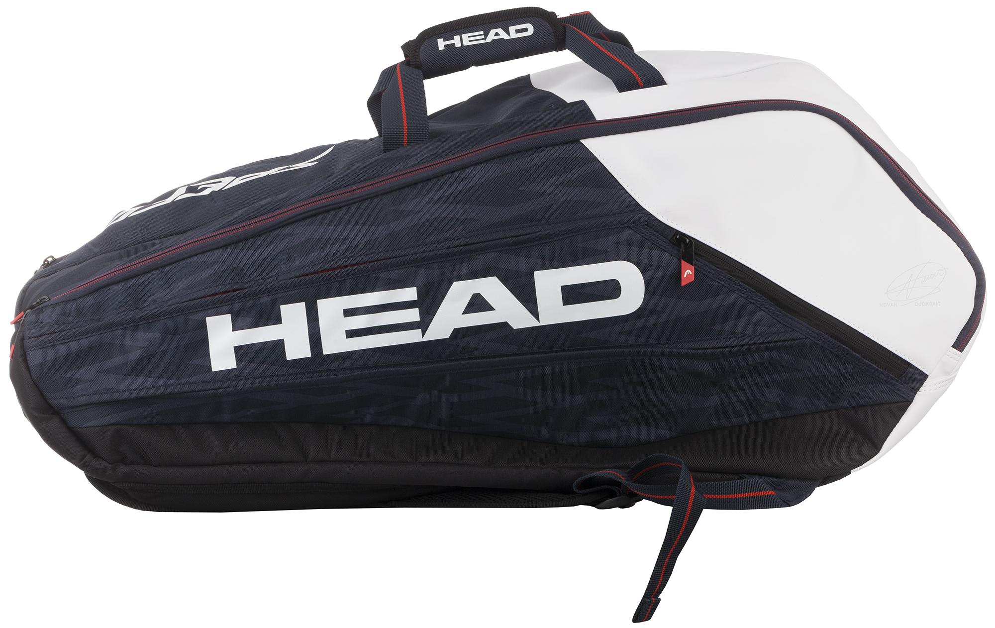 Head Сумка для 9 ракеток Head Djokovic head сумка head tour team 6r combi