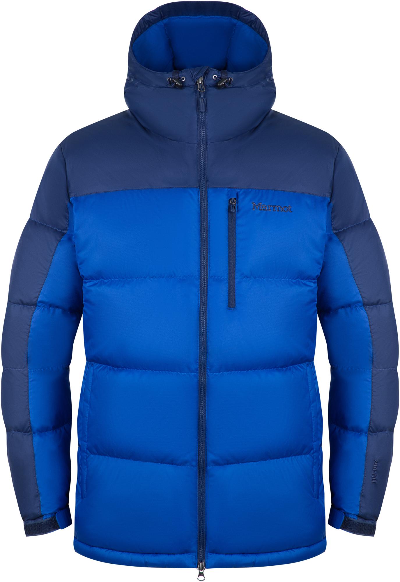 Marmot Куртка пуховая мужская Marmot Guides Down Hoody, размер 60-62 куртка мужская reebok f puff bomber цвет черный dh2140 размер xxl 60 62