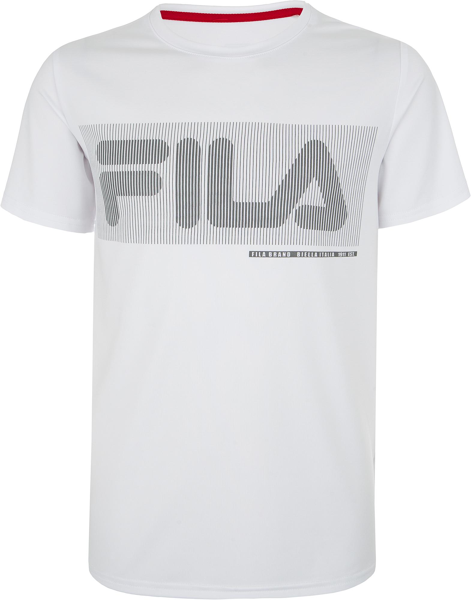 Fila Футболка для мальчиков Fila, размер 170 все цены