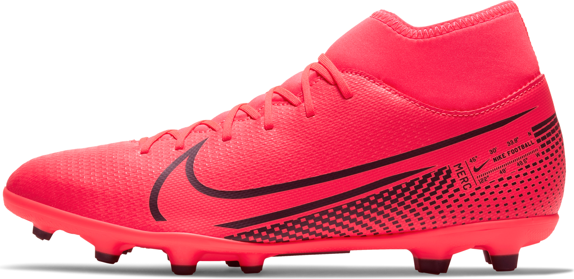 Nike Бутсы мужские Nike Superfly 7 Club FG/MG, размер 41 бутсы nike superfly 6 club fg mg ah7363 001