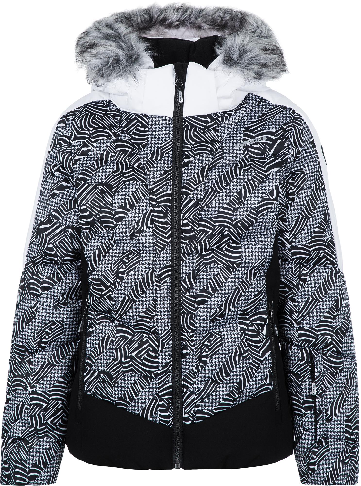 IcePeak Куртка утепленная для девочек IcePeak Leal, размер 164 костюм куртка брюки для девочек icepeak 452002654iv цвет фиолетовый р 164 100%полиэстер 740