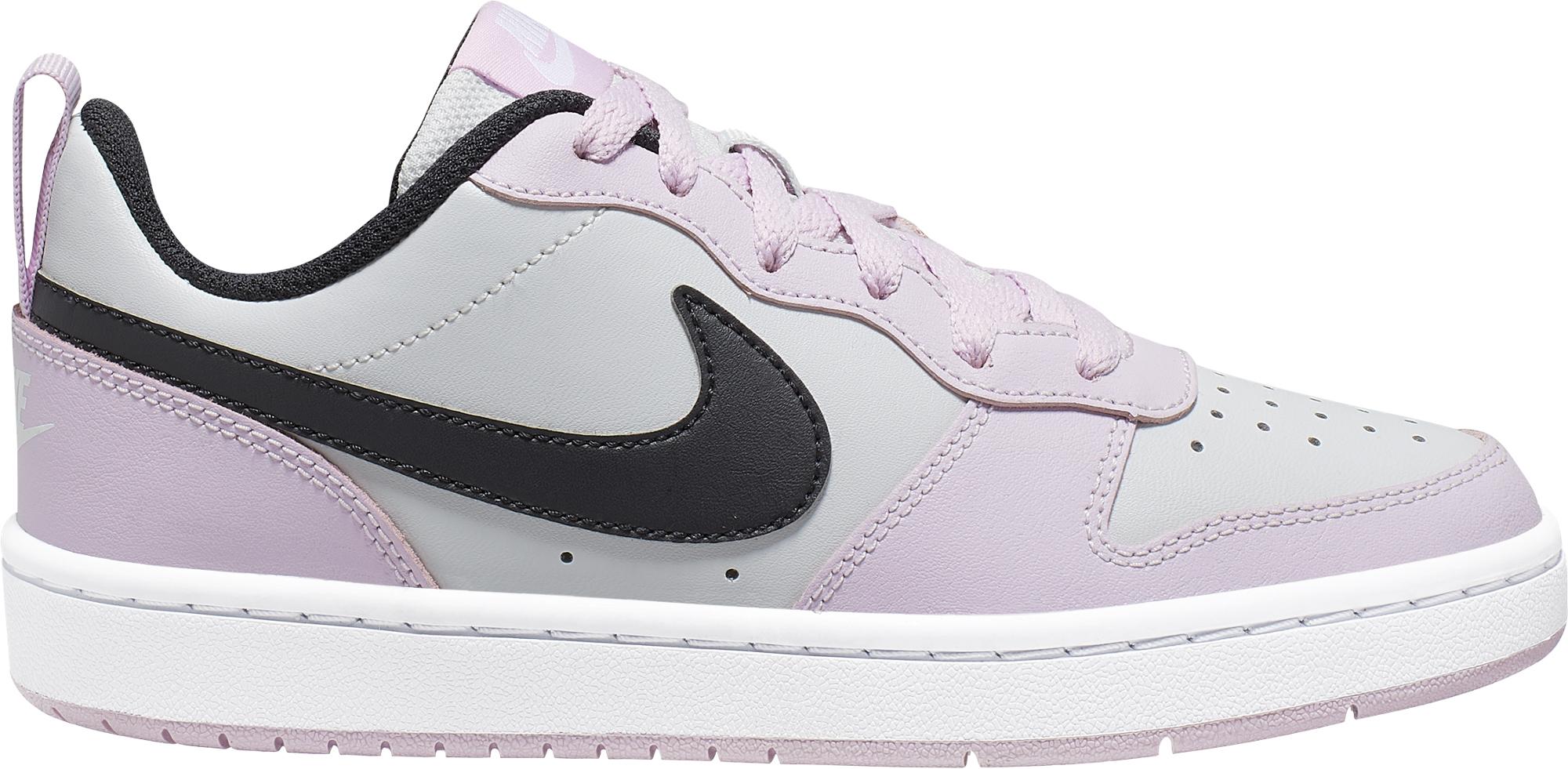 Nike Кеды для девочек Court Borough Low 2 (Gs), размер 39