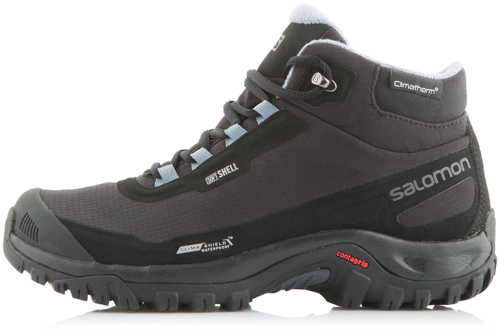 Salomon Ботинки утепленные женские Salomon Shelter ботинки salomon ботинки shoes shelter spikes cs wp black bk ptr