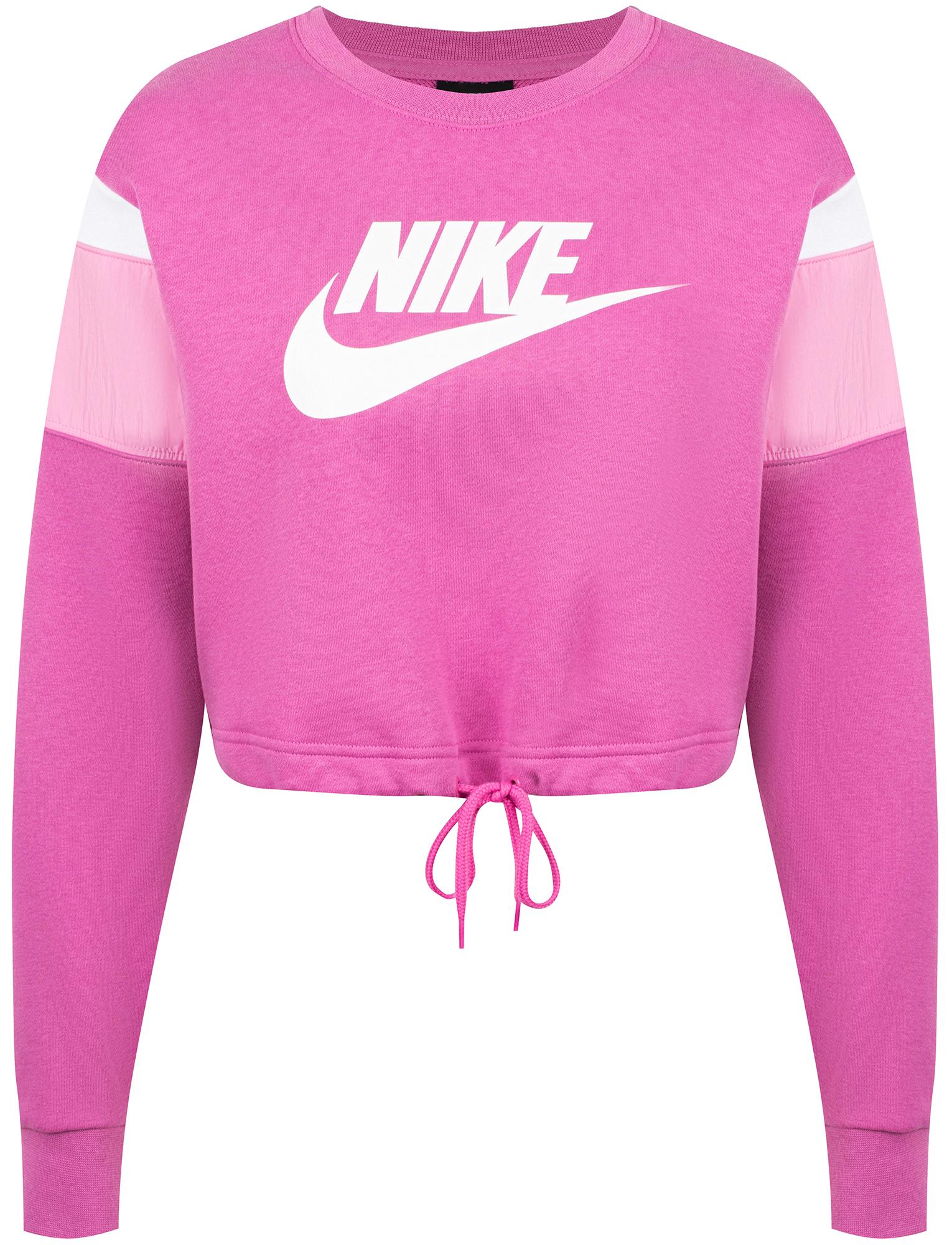 Nike Свитшот женский Sportswear Heritage, размер 40-42