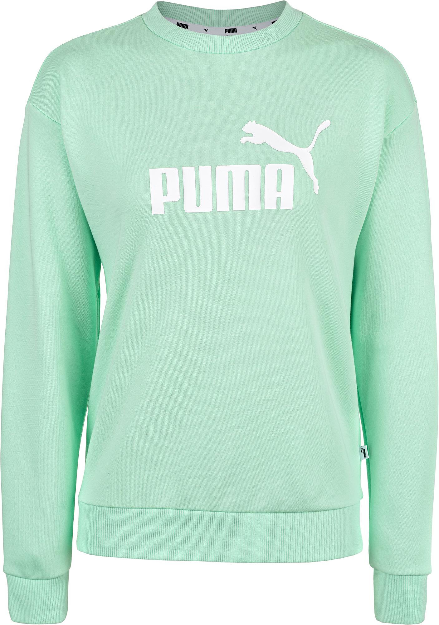 Фото - Puma Свитшот женский Puma ESS Logo Crew, размер 44-46 ess no 1 crew sweat tr w