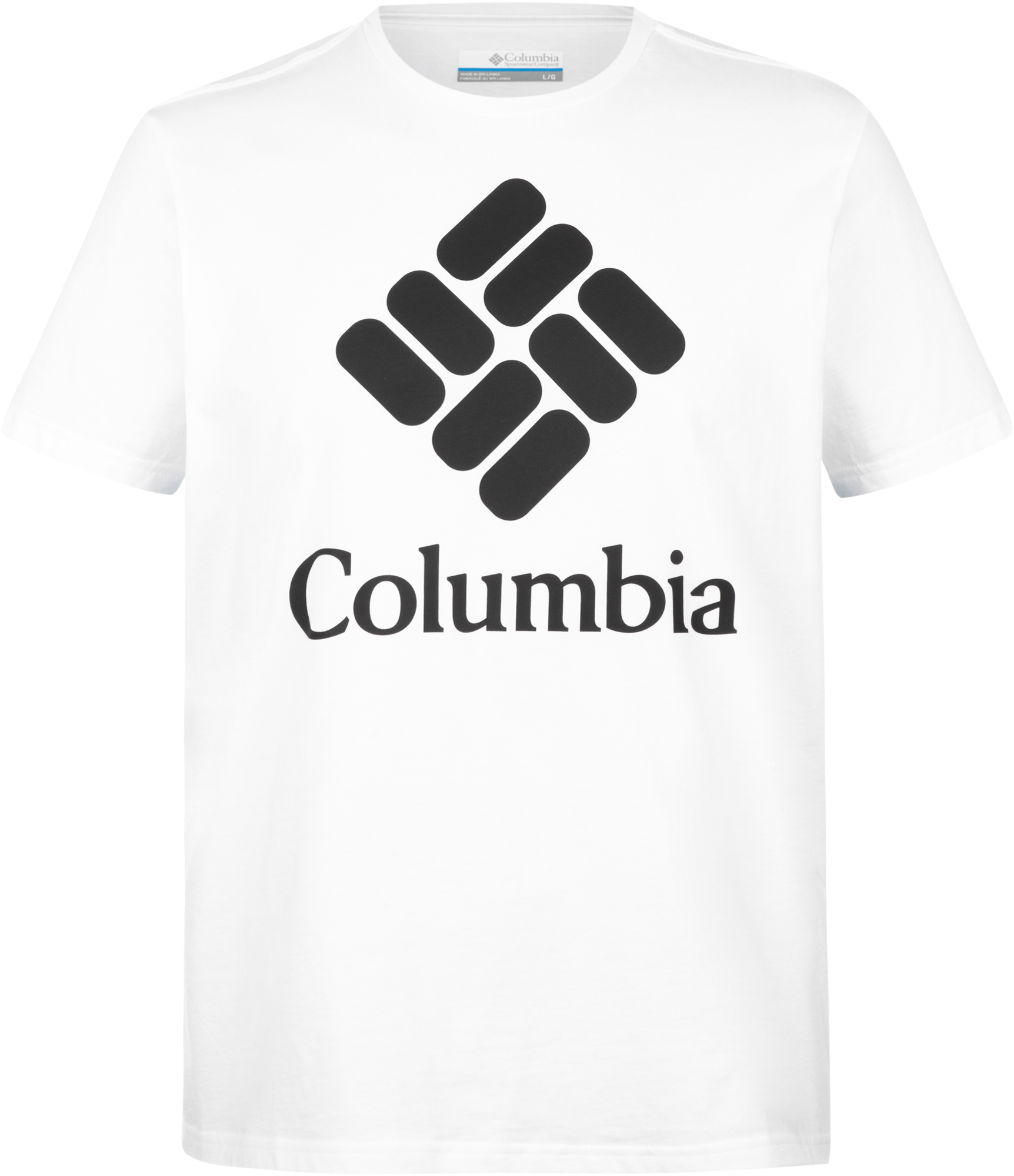 Columbia Футболка мужская Columbia Warren Grove Tee, размер 56 men ombre tee with drawstring shorts