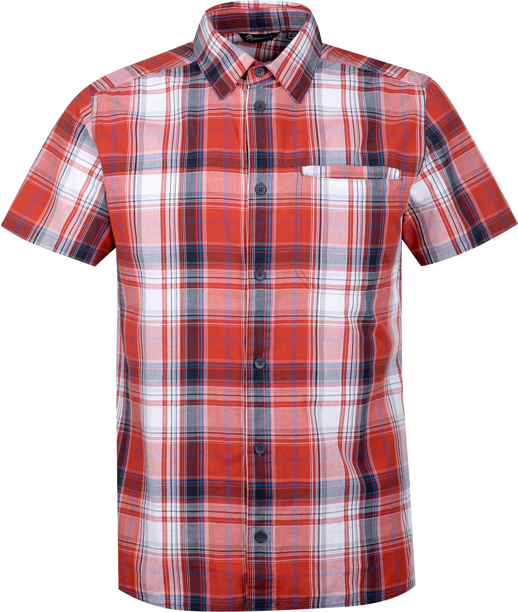 цена на Outventure Рубашка с коротким рукавом мужская Outventure, размер 52