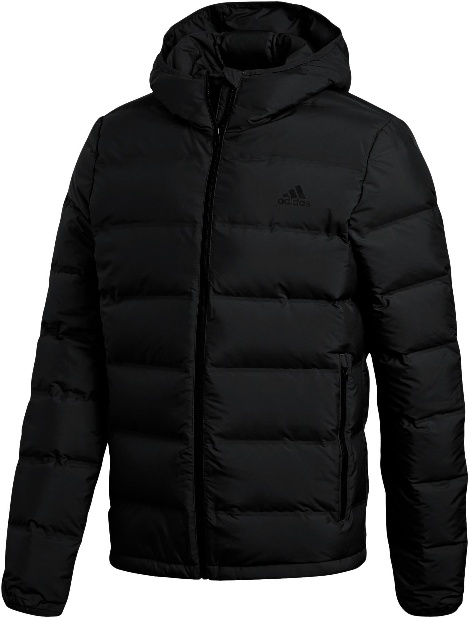 Adidas Пуховик мужской adidas Helionic Hooded, размер 40-42