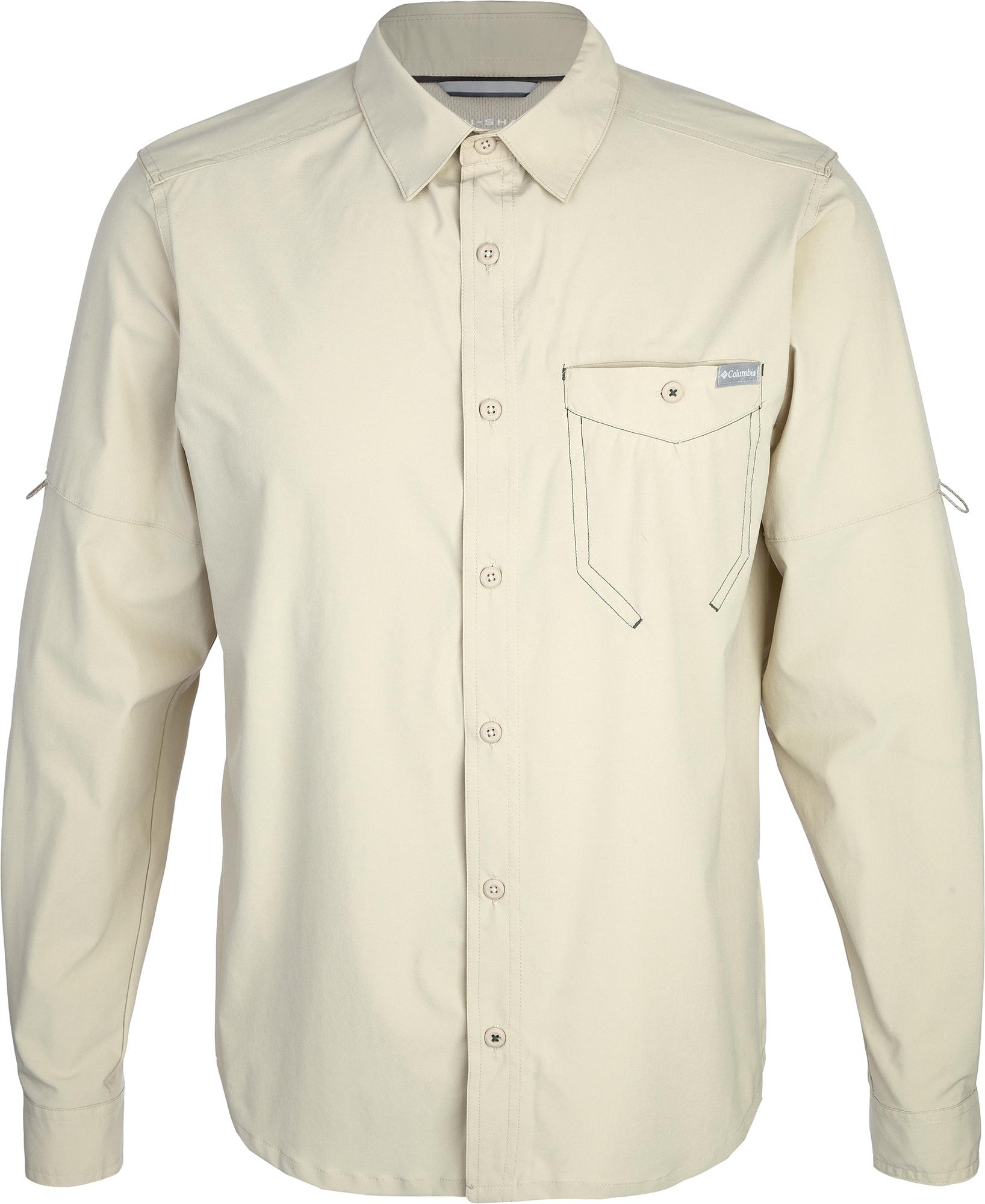 Columbia Рубашка с длинным рукавом мужская Columbia Triple Canyon Solid, размер 46-48 цена