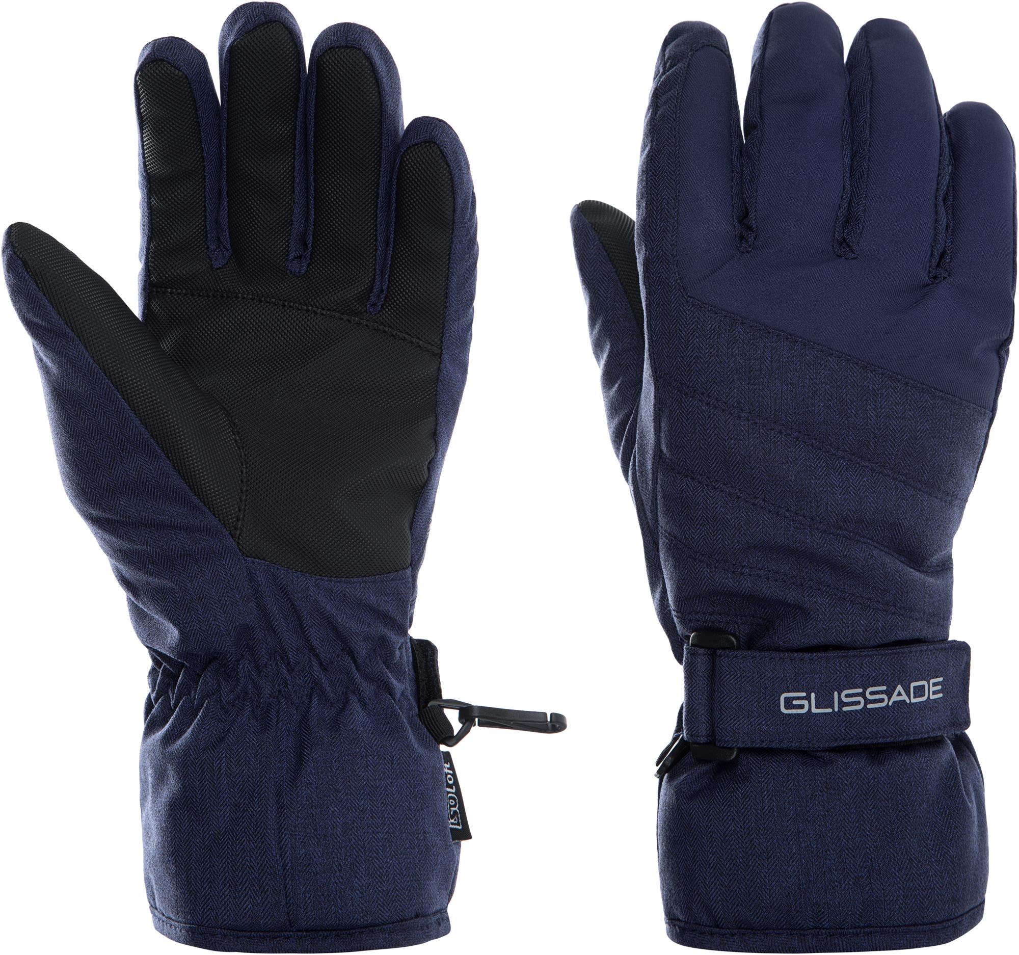 Фото - Glissade Перчатки женские Glissade, размер 8 перчатки женские moltini цвет черный 260b 111716 размер 8