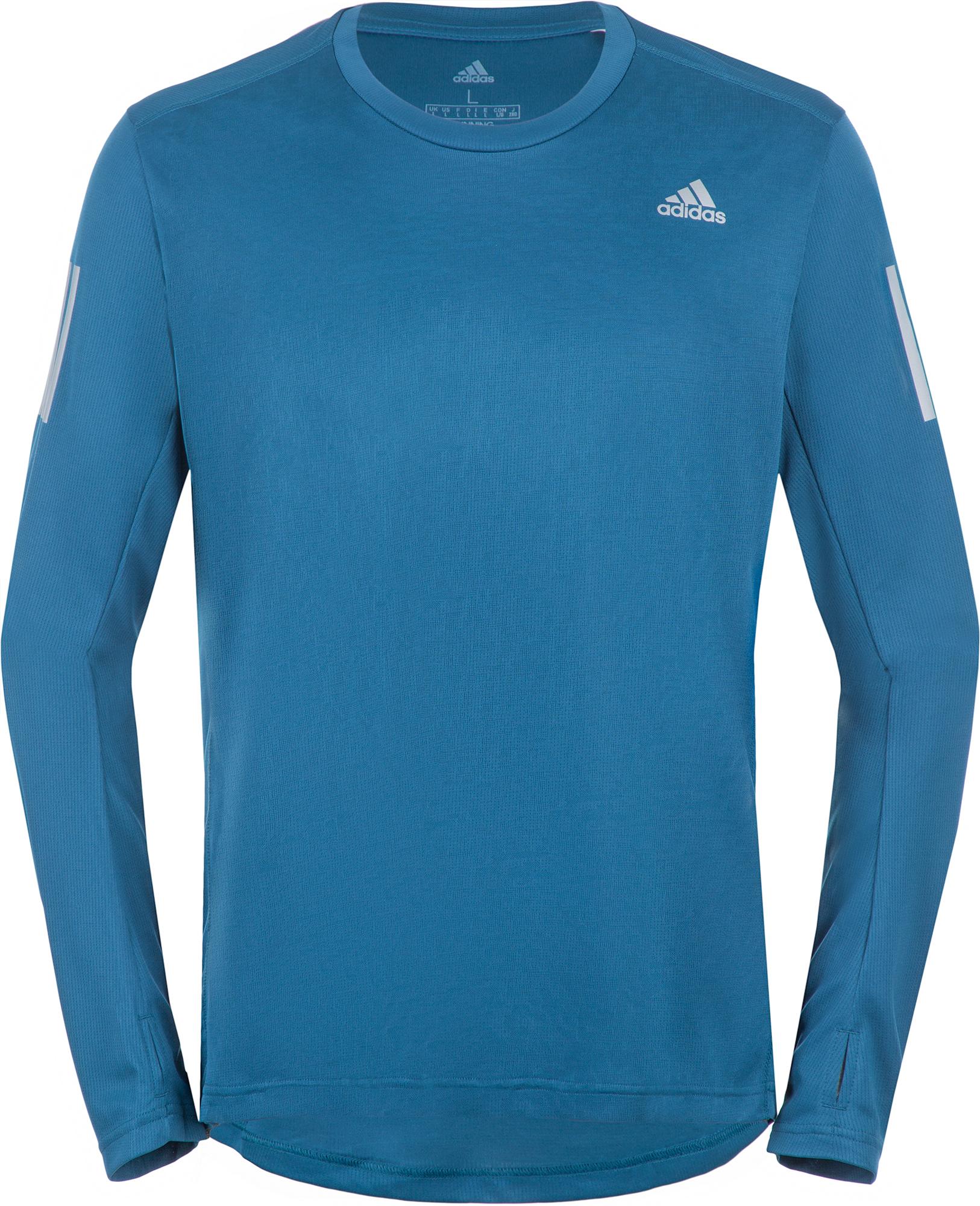 Adidas Лонгслив мужской Adidas Own The Run, размер 54 цена