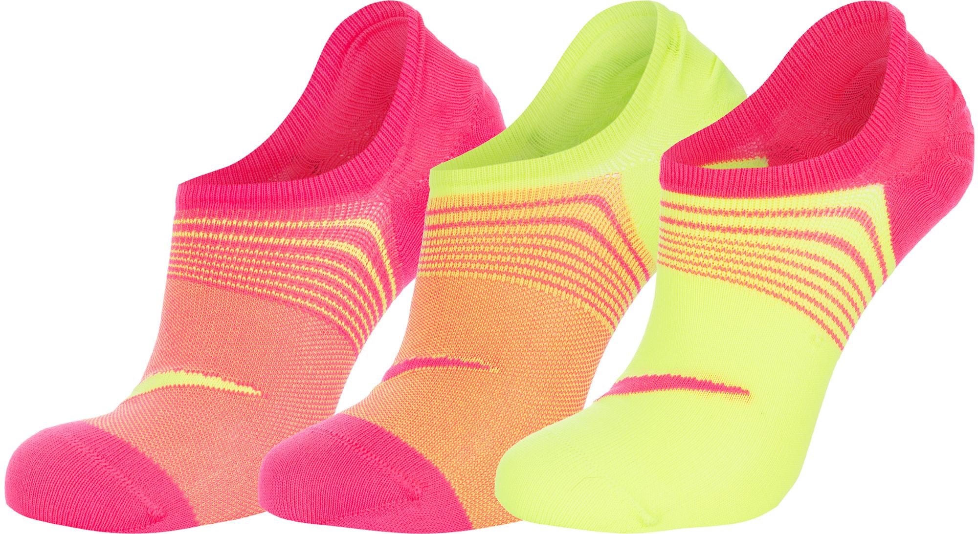 Nike Носки женские Nike Lightweight, 3 пары, размер 37-41 носки nike 3ppk lightweight no snow sx4705 001