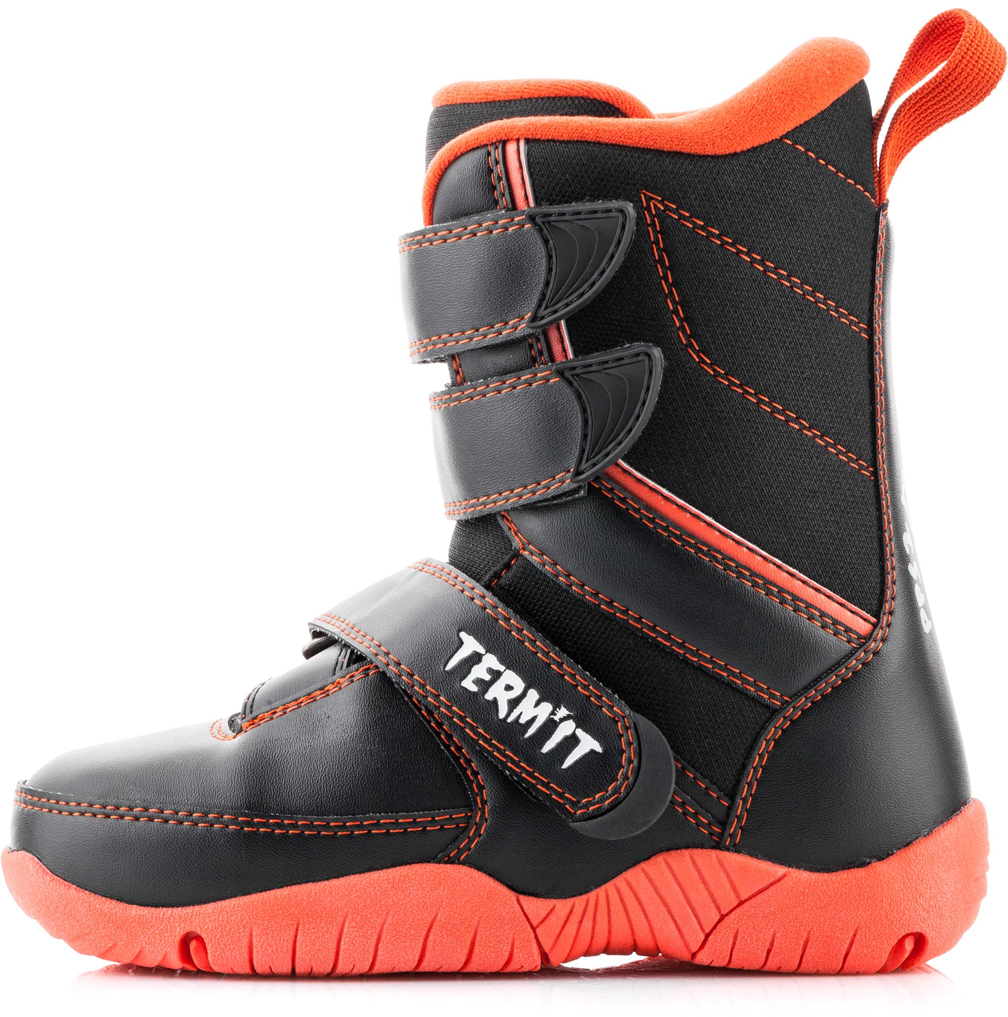 Termit Ботинки сноубордические детские Termit Pilgrim termit ботинки сноубордические женские termit zephyr
